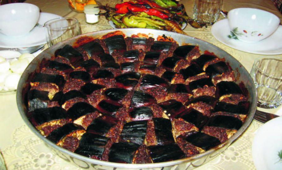 Antep Usulü Patlıcan Kebabı
